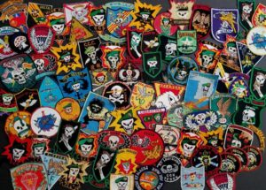 Vietnam War US Special Forces SOG Patch Collection