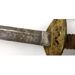 capt. Lawson A. Potts CSA Foot Officer Sword (13)