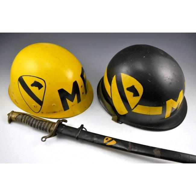 1st Cavalry MP M1 Helmet